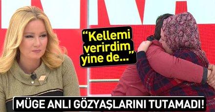 Müge Anlı canlı yayında gözyaşlarını tutamadı! İşte Kerem Öztekin'in 16 yıldır görmediği annesiyle kavuşma anı! 6 Şubat