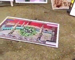 Boğaziçi Üniversitesi'nde Kabe-i Muazzama'ya yapılan saygısızlığa tepki gösteren öğrencilerin fişlendiği ortaya çıktı!