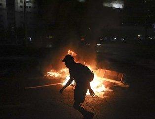Şiliyi ayağa kaldıran olay! Sokaklar savaş alanına döndü