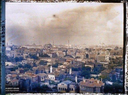 Türkiyenin 100 yıl öncesine ait fotoğrafları