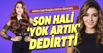 Hande Erçel'in son hali 'Yok artık' dedirtti! Kilodan eser kalmadı
