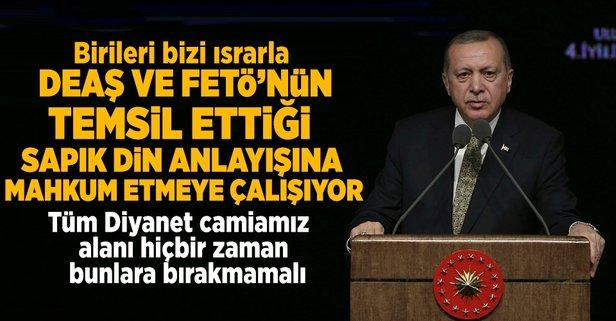 Cumhurbaşkanı Erdoğandan dikkat çeken uyarı