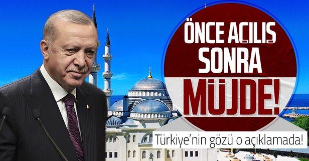Açılışını Başkan Erdoğan yapacak
