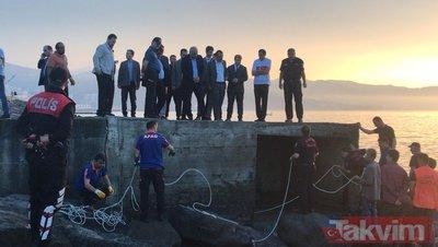 Trabzon Ortahisar'da kanalizasyona düşen işçi ölü bulundu