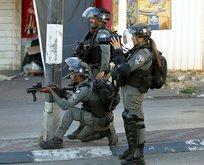 İsrail polisi Kudüs'te Filistinlilere saldırdı