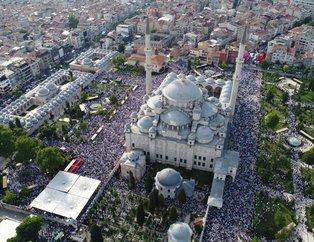Abdulmetin Balkanlıoğlu'nu on binler uğurladı