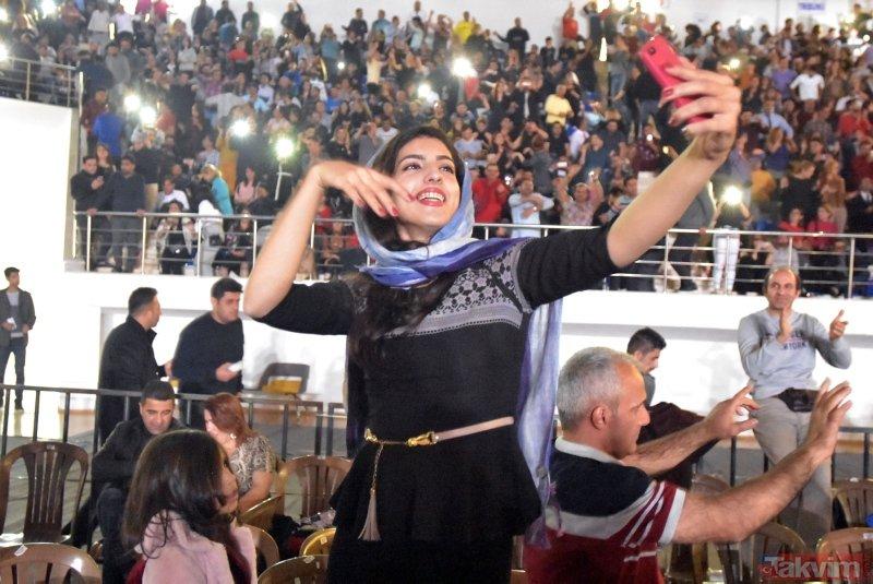 Van'da, İranlılar Moein'in konseriyle coştu!