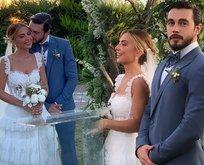 İsmail Ege Şaşmaz ile Hande Ünal evlendi!