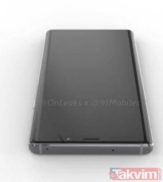 Samsung Galaxy Note 9 ortaya çıktı!  Note 9 böyle görünüyor