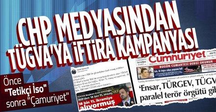 CHP medyasından TÜGVA'ya iftira kampanyası