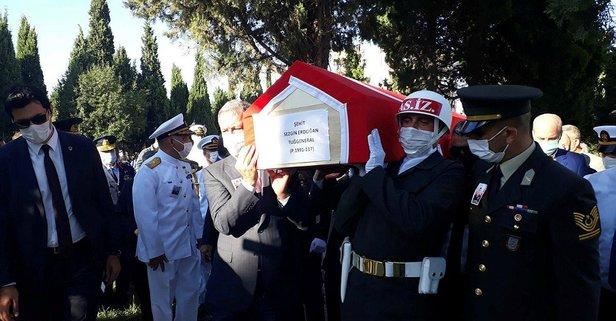 Şehit Tuğgeneral Erdoğan son yolculuğuna uğurlandı!
