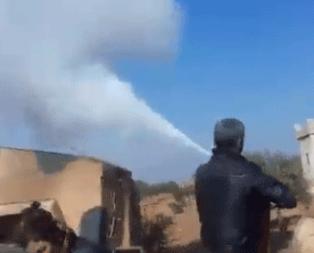 PKK/YPG'liler Türk askeri aracına saldırdı!