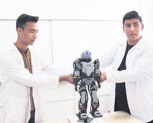 İnsansı robot tasarladılar!