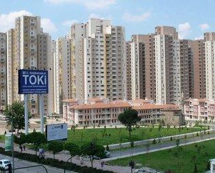 TOKİ'den 10 bin peşin 306 lira taksitle evler