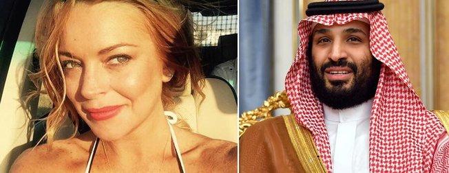 Lindsay Lohan ve Suudi Arabistan Prensi Selman aşk mı yaşıyor? O iddialara ilk yanıt