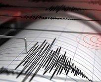 Amasya'da korkutan deprem