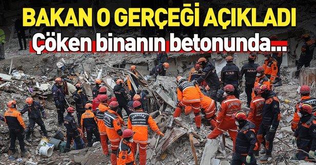 Kartal'da çöken binadan acı haber