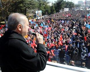 Cumhurbaşkanı Erdoğan Afyonkarahisarda