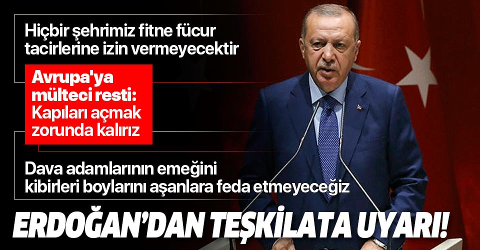 Son dakika: Başkan Erdoğan'dan İl Başkanları Toplantısı'nda önemli açıklamalar