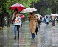 Meteoroloji duyurdu! Yağış geliyor!