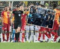 Fenerbahçe-Galatasaray derbisinin VAR kayıtları ortaya çıktı