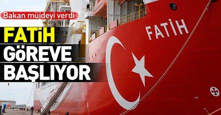 Enerji Bakanı Fatih Dönmez: Birkaç ay içerisinde Akdenizdeki ilk sondajı gerçekleştireceğiz