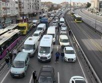 İstanbul'da kısıtlamada dikkat çeken trafik