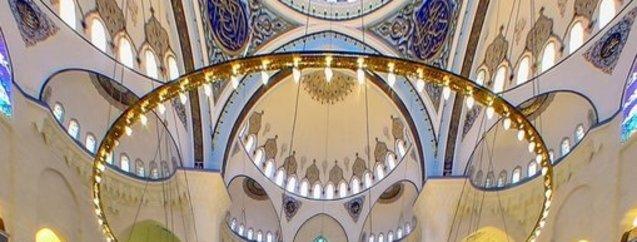 Çamlıca Camii'nin içi ilk defa görüntülendi!