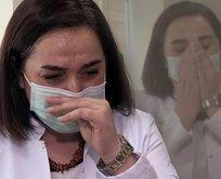Virüsü yenen doktor yaşadıklarını ağlayarak anlattı