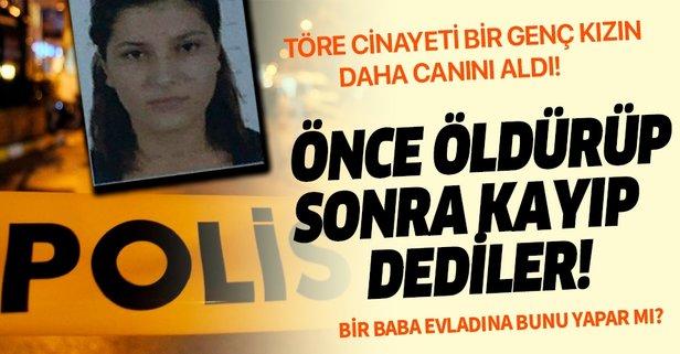 Yıllar önce genç kızı öldürüp, kayıp dediler!
