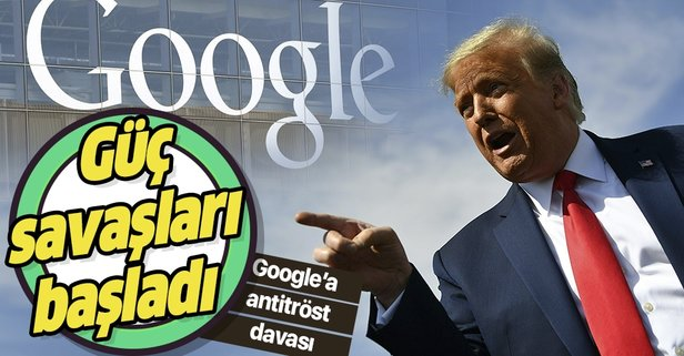 ABD'den teknoloji devi Google'a tekelleşme davası!