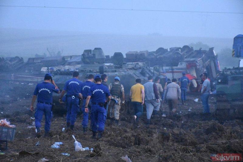 Tekirdağdaki tren kazasında hayatını kaybeden 24 kişinin isimleri belli oldu