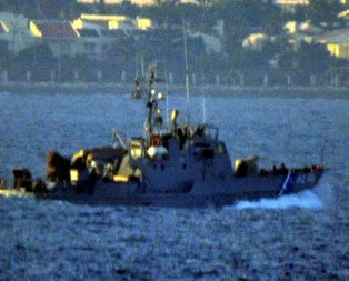 Bodrumda Türk kaptana ateş açıldı