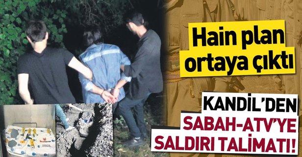 Kandil'den SABAH-ATV'ye saldırı talimatı