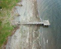 Sapanca Gölü'nde sular çekildi! Uzman isim uyardı