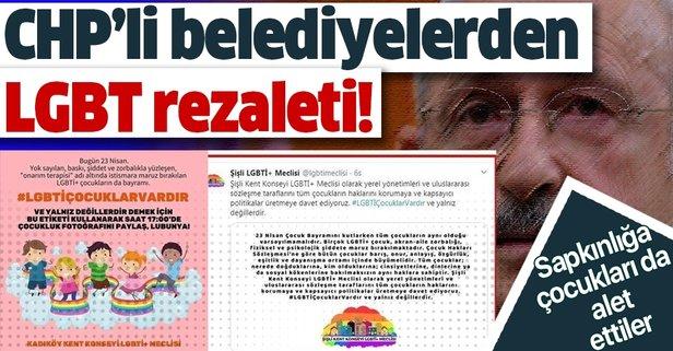 İki CHP'li belediyeden LGBT meclisi!