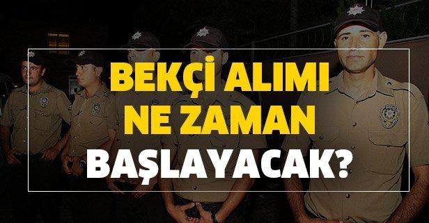Toplamda 30 bin kişi alınacak… Polis Akademisi bekçi alımı için gözler o tarihte!