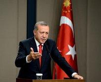 Erdoğan Bayburt'ta müjdeyi verdi