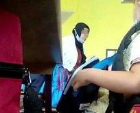 1'inci sınıf öğrencisini hüngür hüngür ağlattı