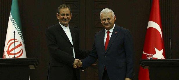 Başbakan Yıldırımdan İrana başsağlığı telefonu