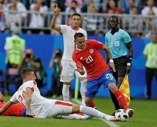 Sırbistan Kosta Rika engelini tek golle geçti