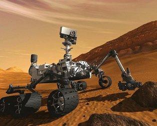 Marstaki Curiosityden 360 derecelik özçekim!