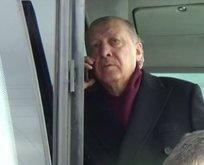 Erdoğan, Yeni Zelanda'da yaralanan Türk ile görüştü!