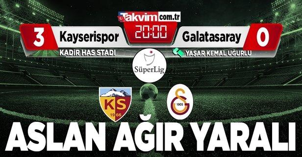 Galatasaray yine yenildi