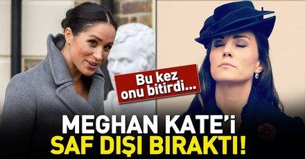 Meghan Markle ile Kate Middleton savaşında son perde: Meghan Kate'i ezdi geçti!