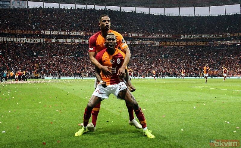 Cimbom adım adım şampiyonluğa   Galatasray:2 - Beşiktaş:0 Maç sonucu