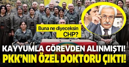 Kayyum ile görevden alınan Diyarbakır Büyükşehir Belediyesi Başkanı Selçuk Mızraklı'nın PKK'nın özel doktoru olduğu ortaya çıktı!