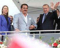 İbrahim Tatlıses Başkan Erdoğan'ı İzmir'de de yalnız bırakmadı!