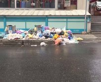 CHP'li belediyede sokaklar çöpten geçilmiyor!
