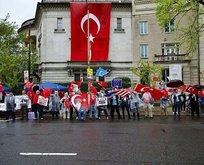 ABDde yaşayan Türklerden sert tepki
